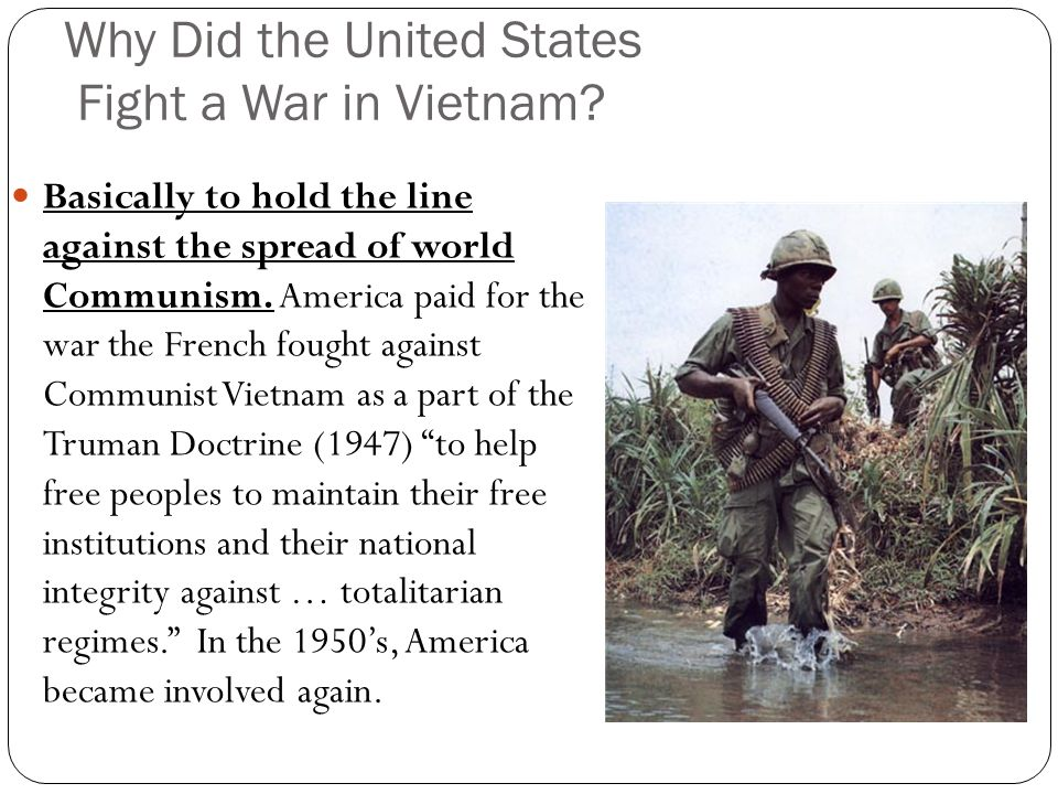 the united states war against communist vietnam Foreign relations between the united states and vietnam  trade embargo against communist north vietnam that had been  vietnam war, the small number of.