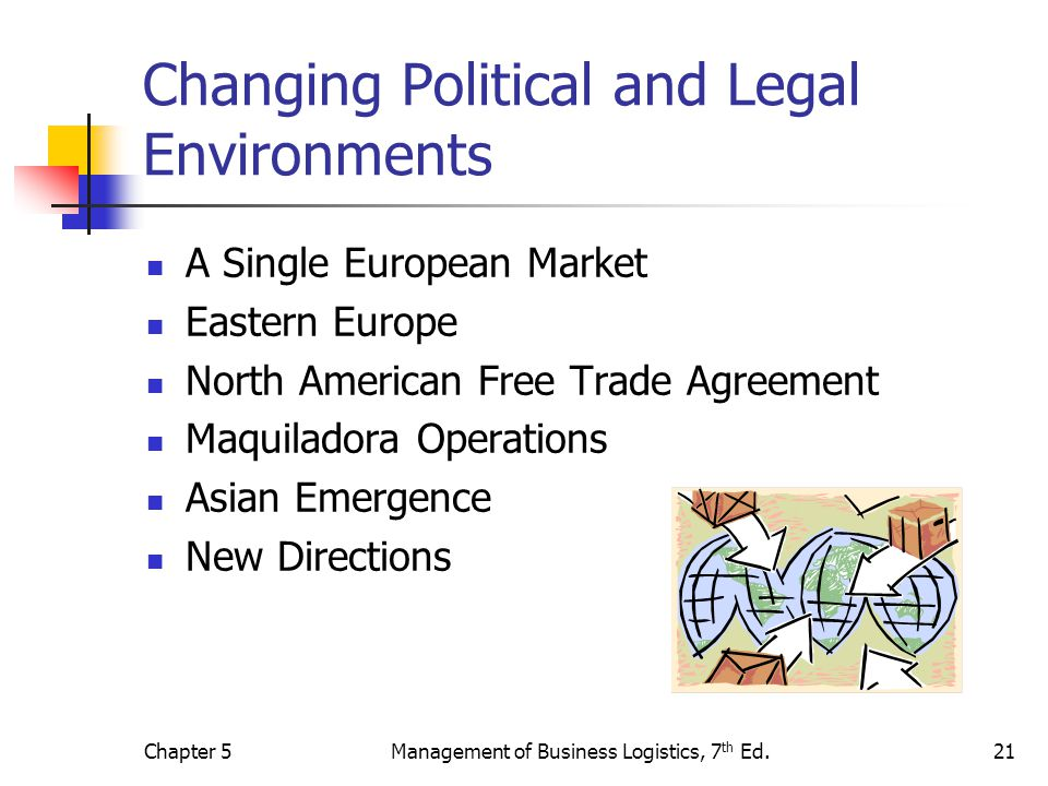 legal and political environments A key factor to asses in the political environment is the stability of the local  government examine the country's policies toward business,.