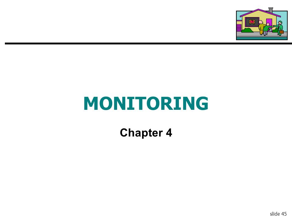MONITORING Chapter 4