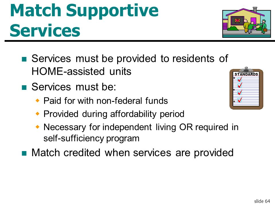 Match Supportive Services
