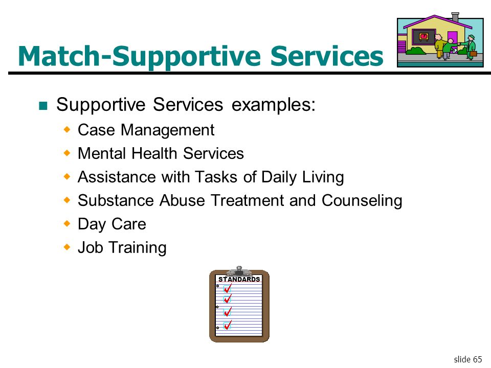 Match-Supportive Services