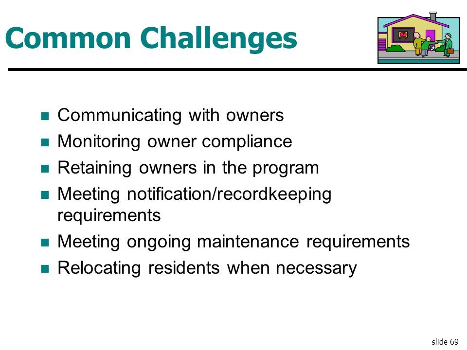 Common Challenges Communicating with owners