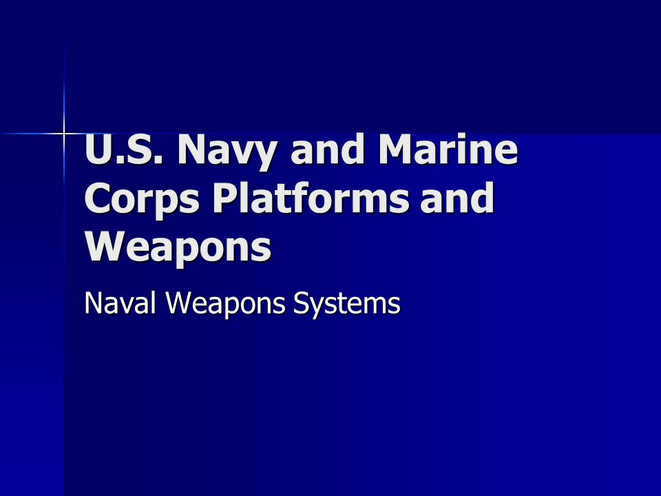 u.s. navy and marine corps platforms and weapons - ppt video, Modern powerpoint