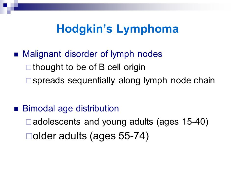 an essay on adult hodgkin lymphoma To diagnose hodgkin's lymphoma, there must be a biopsy it is the presence of reed-sterngerg cells that differentiate it from non-hodgkin's  popular essays .
