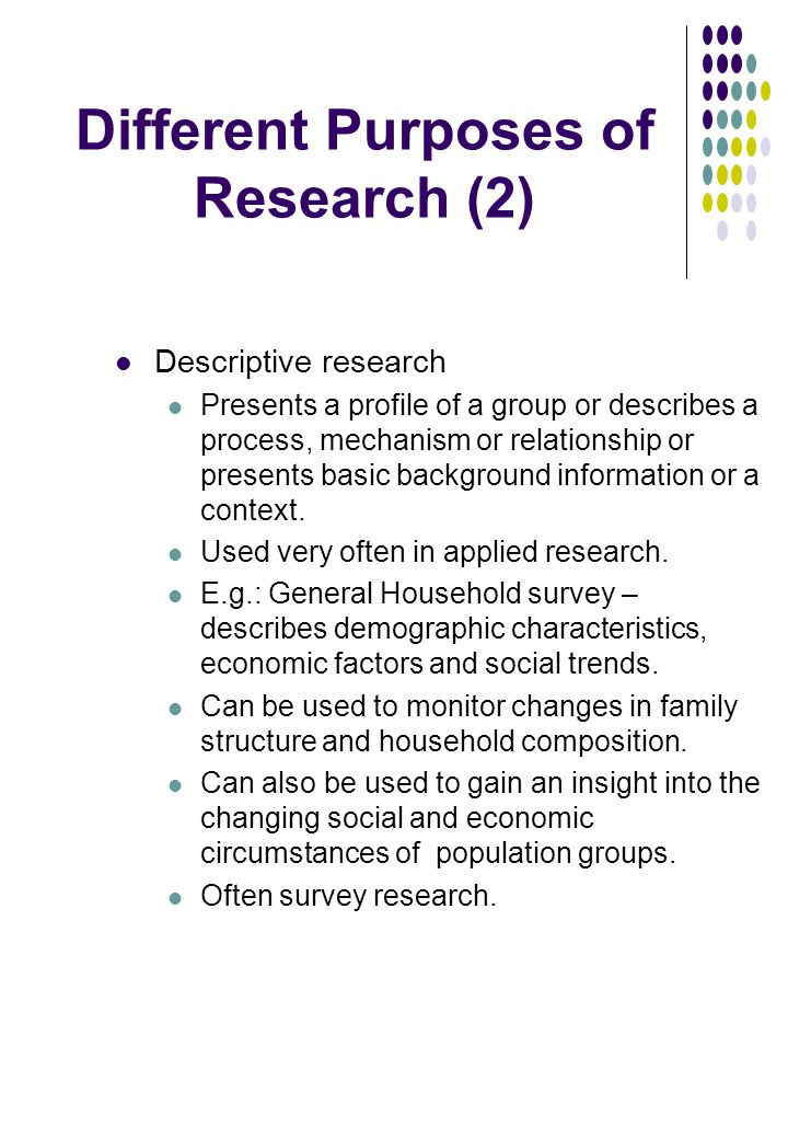 the nature and purposes of research Understand the nature and purposes of research 1 understand the nature andpurposes of research in the creative media industries sandra ksiazek.