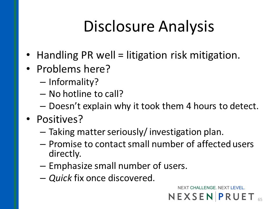 disclosure analysis Disclosure analysis a company reports several items in the current asset section of its balance sheet the basis of those items reported contain the company's cash and cash equivalents, inventories and receivables.