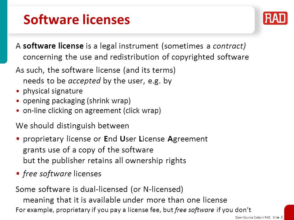 Open source software yaakov j stein cto ppt video online download 8 software licenses platinumwayz