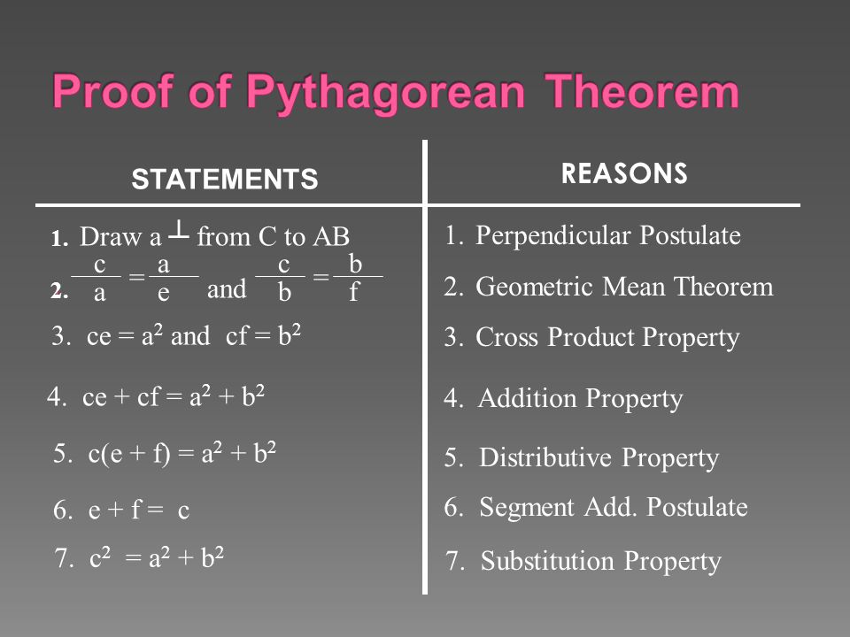 The pythagorean theorem and its converse ppt video - Kuta software exterior angle theorem ...