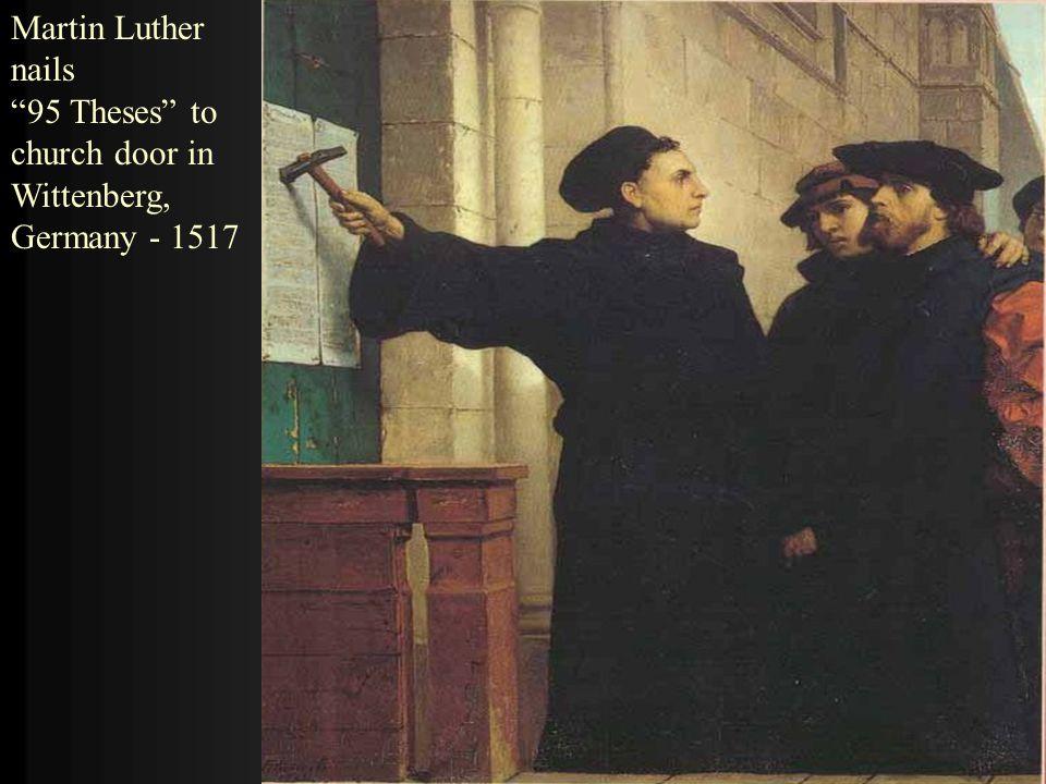 6 Martin ...  sc 1 st  SlidePlayer & Protestant Reformation ppt video online download