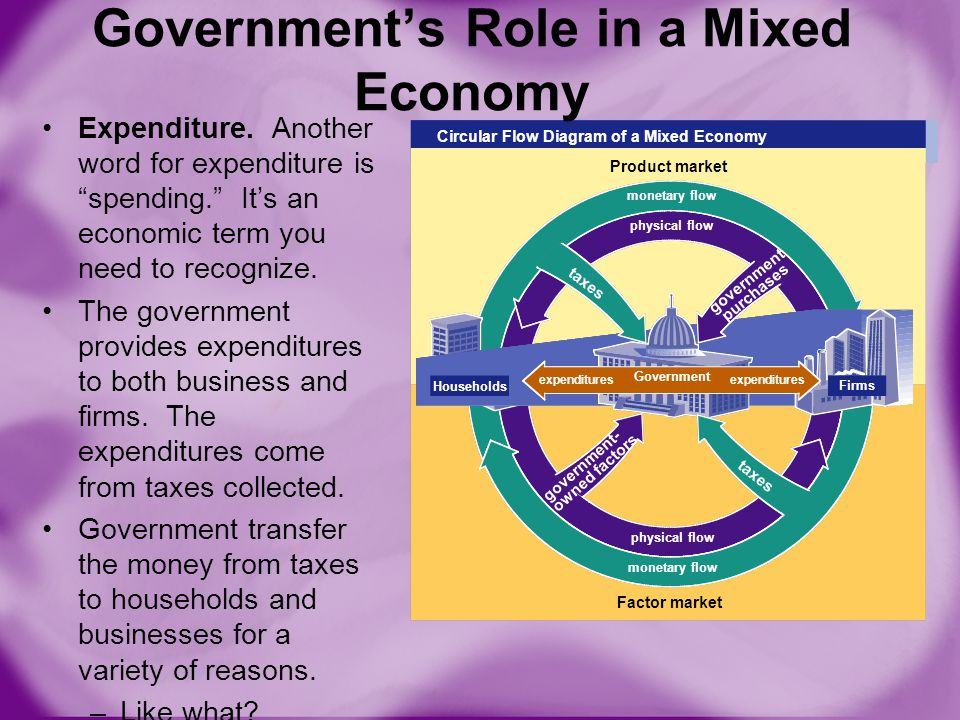 the government's role in economic efficiency Review : supply, demand, and economic efficiency the role of government in a market economy review how market economies achieve allocative efficiency [from the .