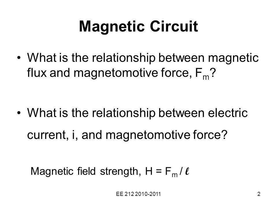 magnetic fields and electric relationship marketing