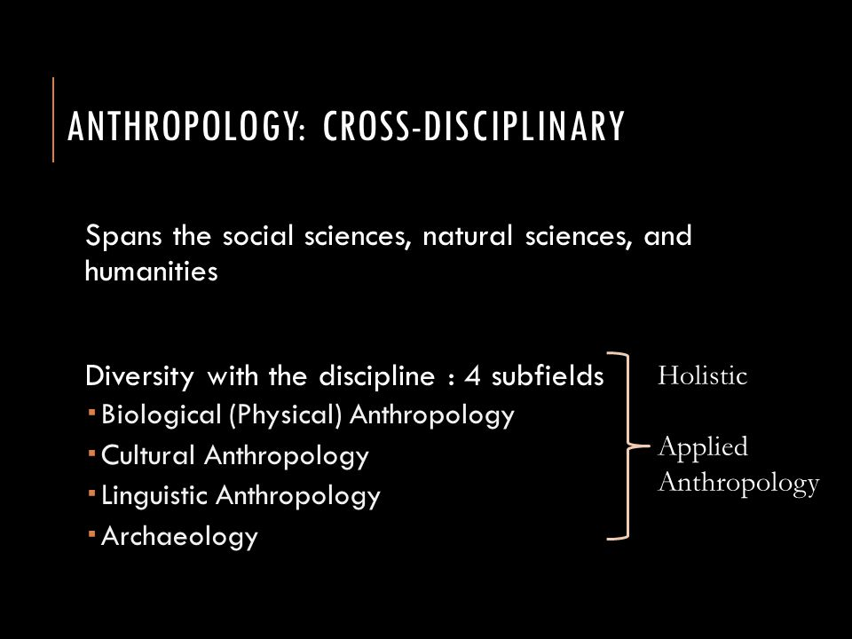 Anthropology: The Four Subfields