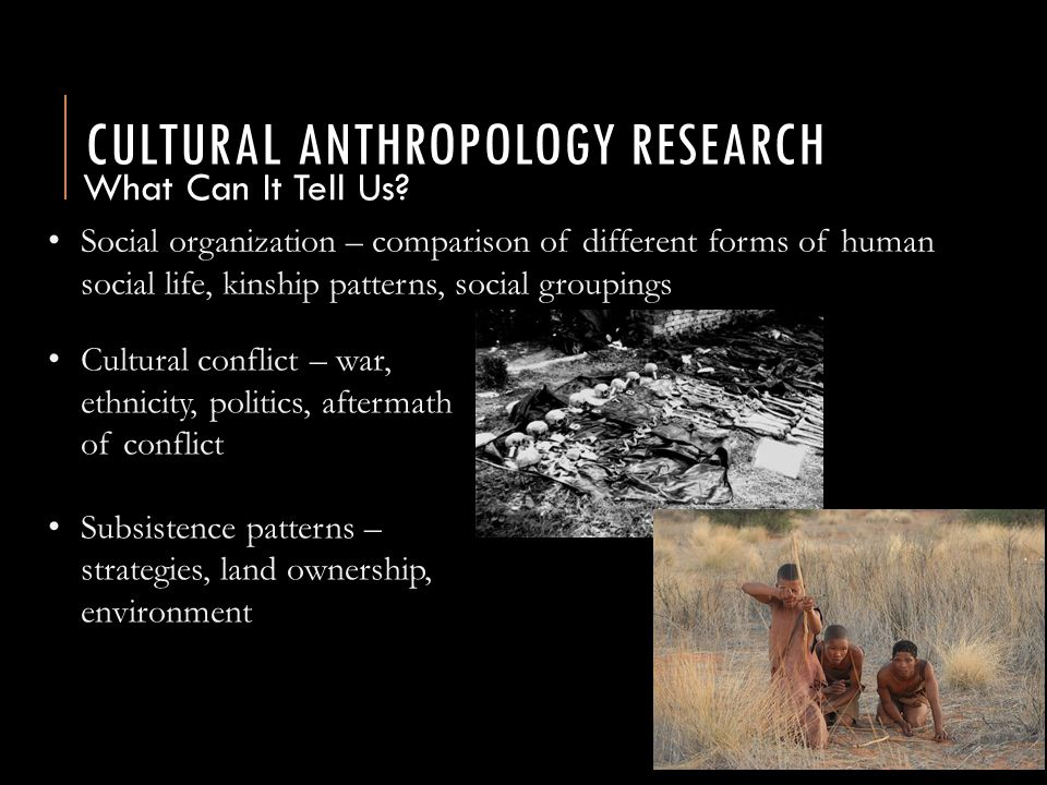 general anthropology a study of humanity Evolution of the human body and brain, through to the political, cultural and   entry requirements to study anthropology degrees tend to be quite flexible,.