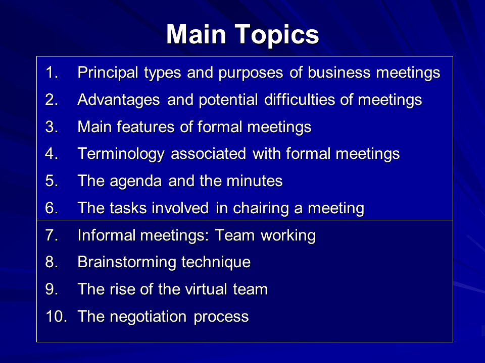 types of company meetings General meetings of a company  b annual general meeting must be held by every type of company, public or private, limited by shares or by guarantee, with or .