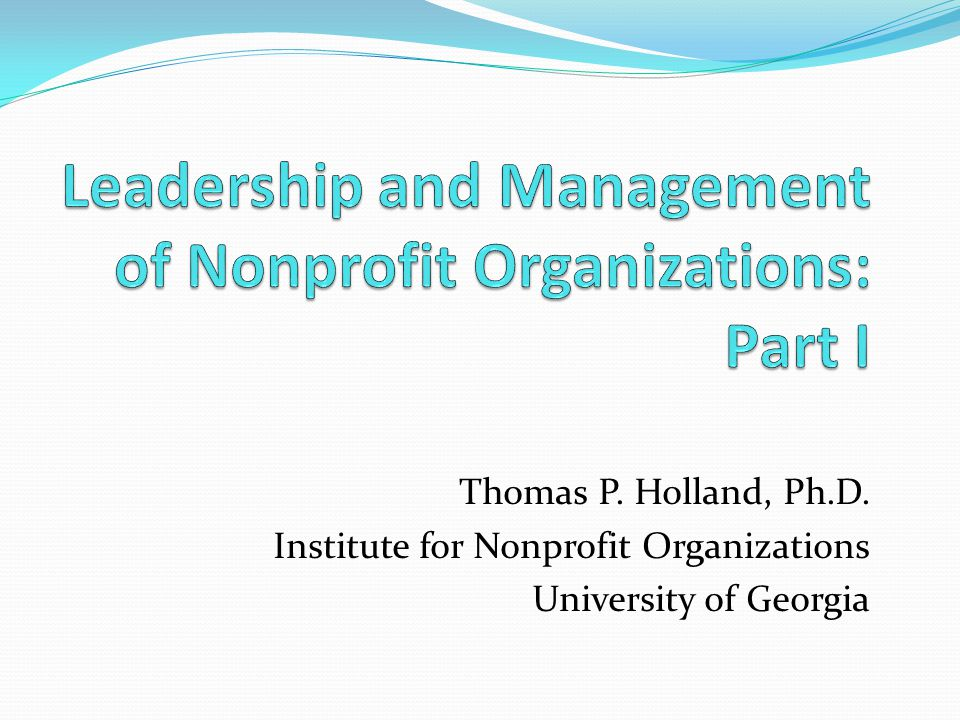 management and leadership in organizations