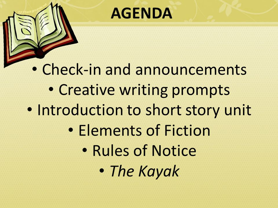 writing creative stories online This section provides the schedule of lecture topics for the course and features lecture notes for the majority of writing and reading short stories is subject to our creative commons.