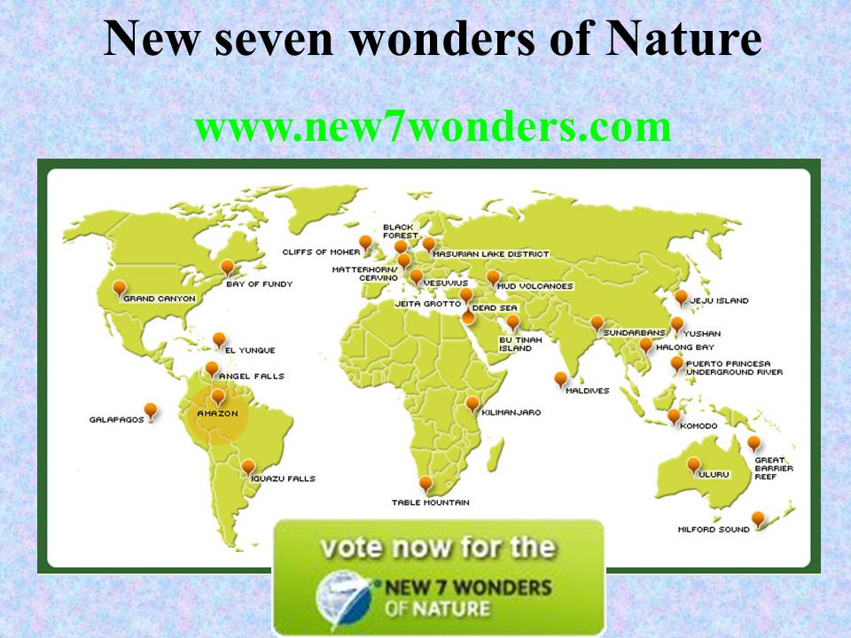 seven wonders of nature Is it our true nature to be selfish and competitive, or empathic and cooperative  what we believe about ourselves becomes a self-fulfilling prophecy.