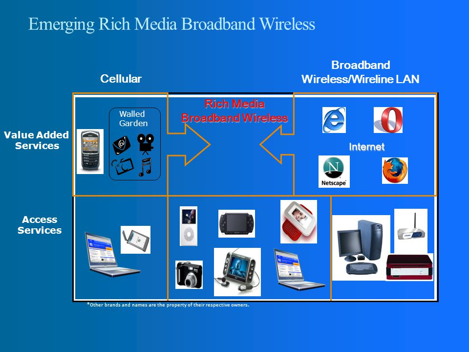 Emerging Rich Media Broadband Wireless