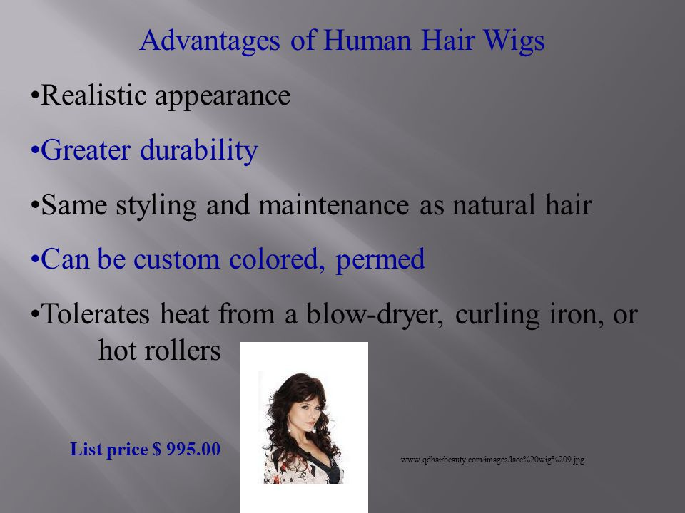 Wigs And Hair Additions Ppt Video Online Download