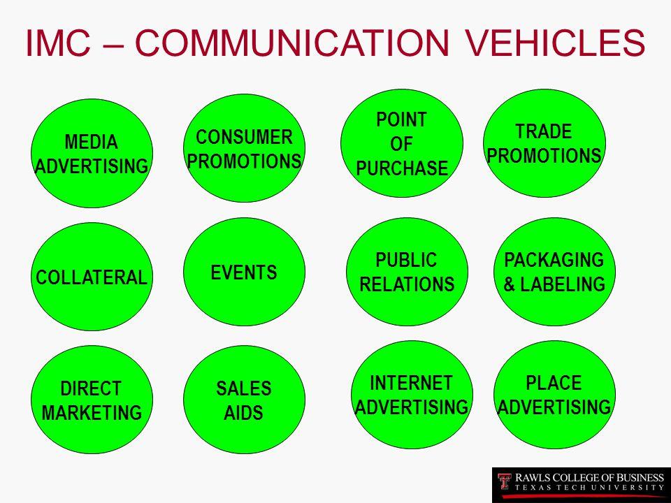 IMC – COMMUNICATION VEHICLES