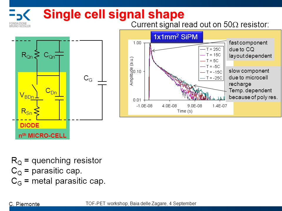 Single cell signal shape