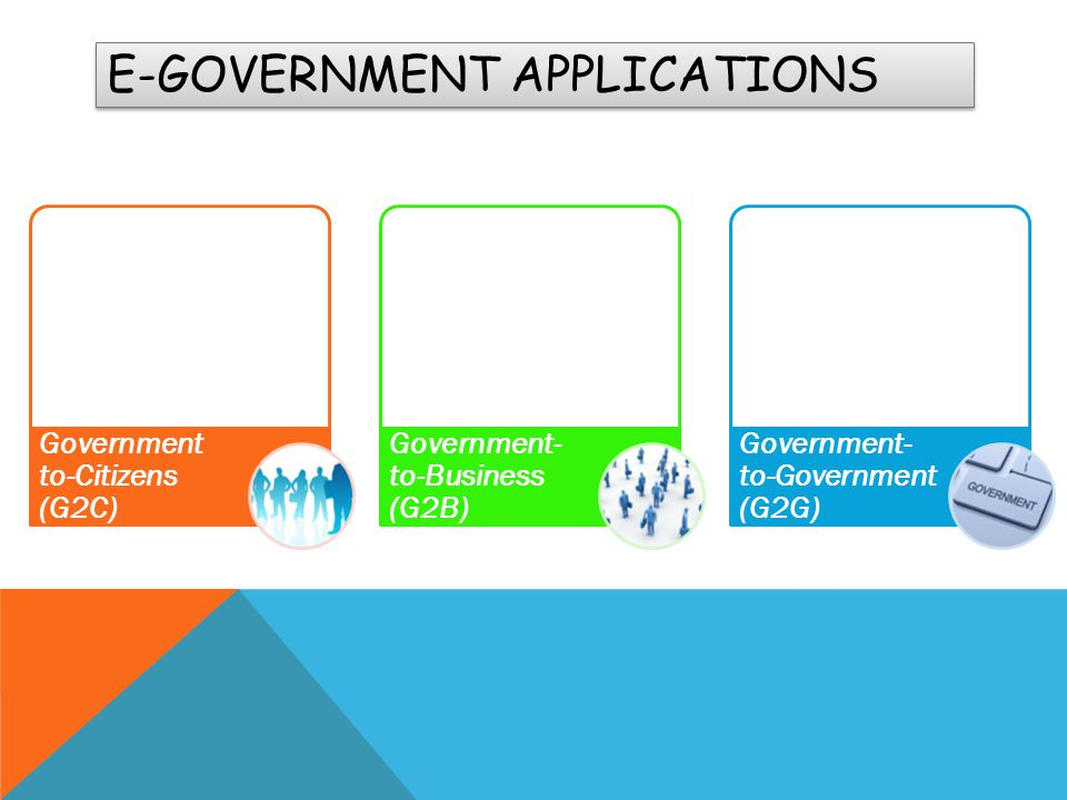 E-Government applications