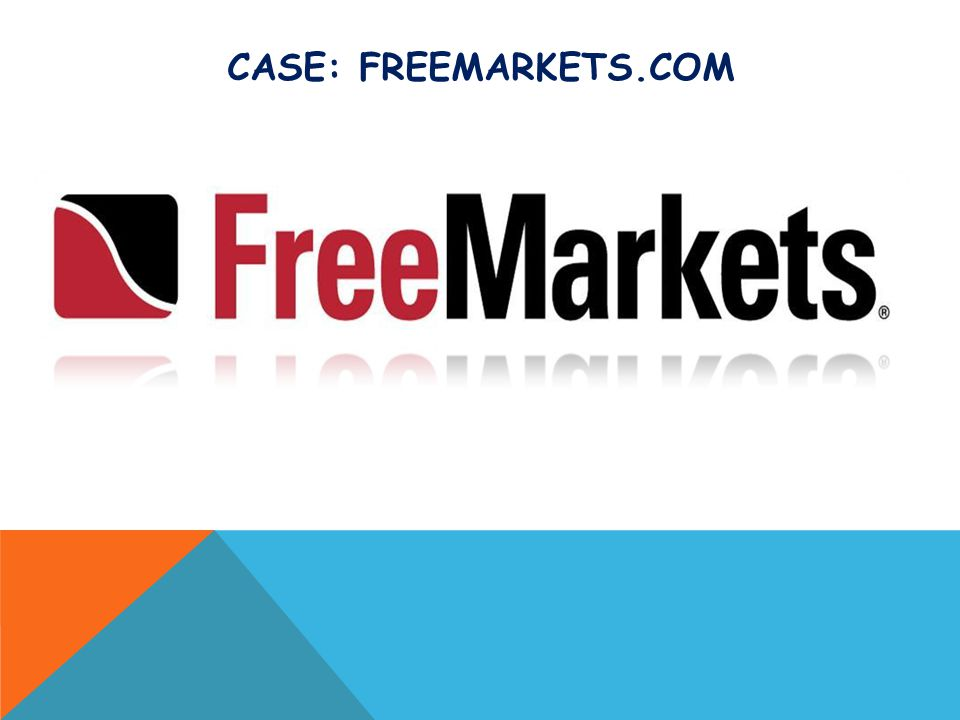 Case: FreeMarkets.com