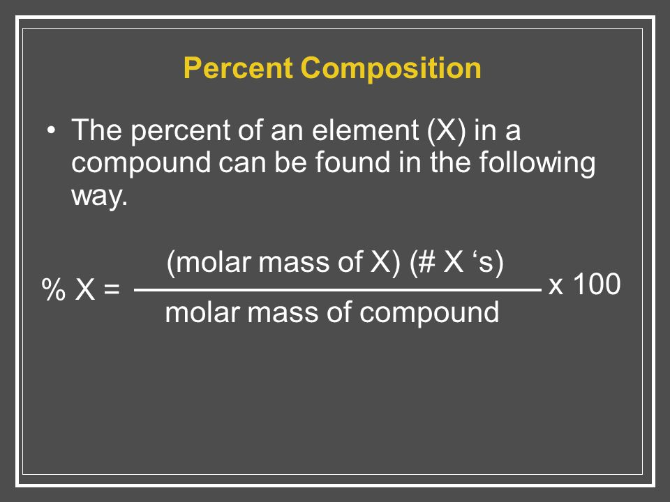 how to find the molar mass of element x