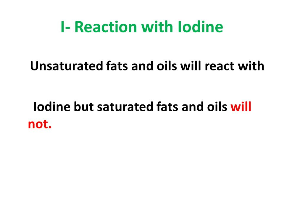 I- Reaction with Iodine