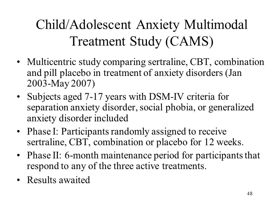 A Study Of Childhood Anxiety Disorders And Their Impact On ...