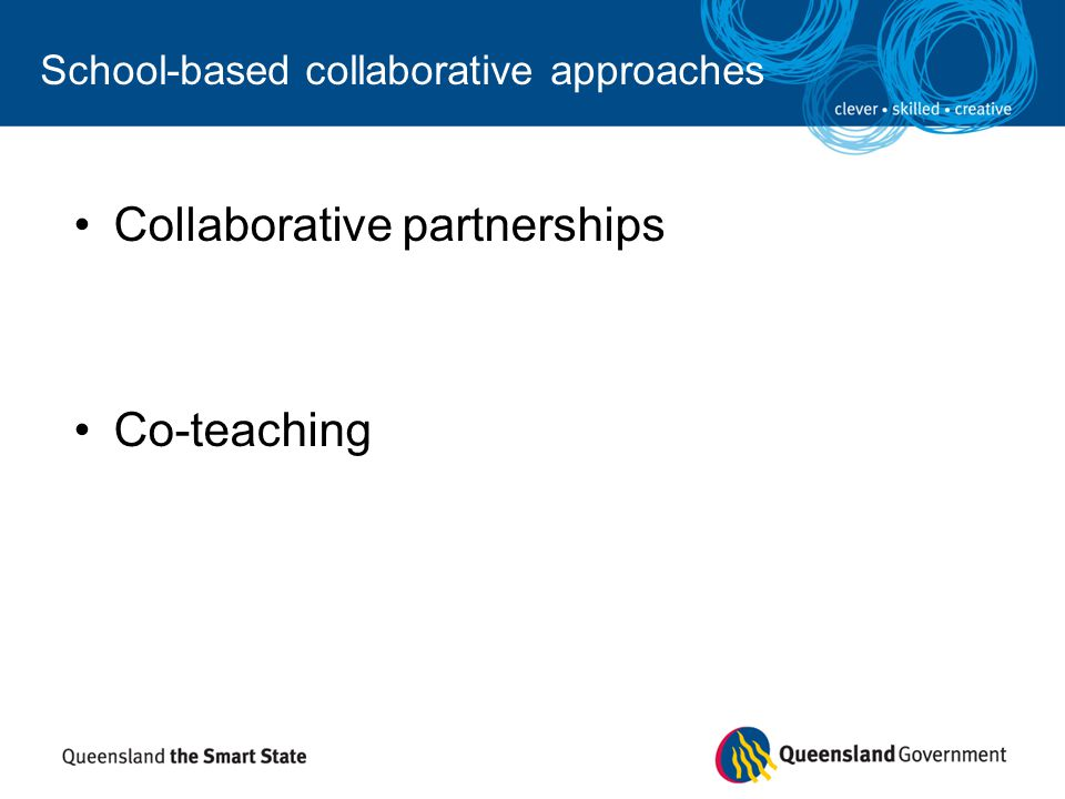 Collaborative Co Teaching : Curriculum planning using the essential learnings and