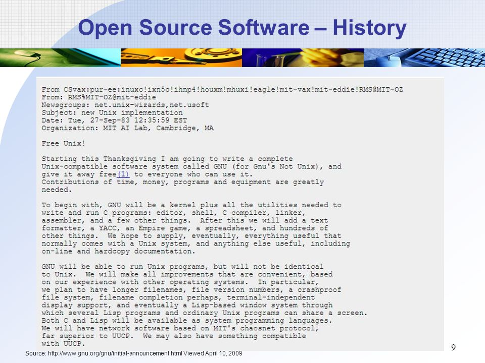 Group 7 Open Source Software Ppt Download