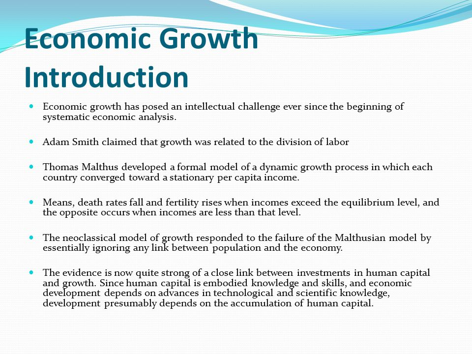 an introduction to the population and economic development With 175% of total world's population, india had a 206% share of world's poorest in 2013 according to a 2005-2006 survey economic development in india make in india - a government program to encourage manufacturing in india events.