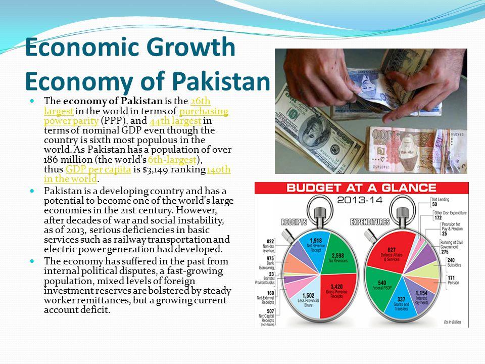 Economic Growth Economy of Pakistan