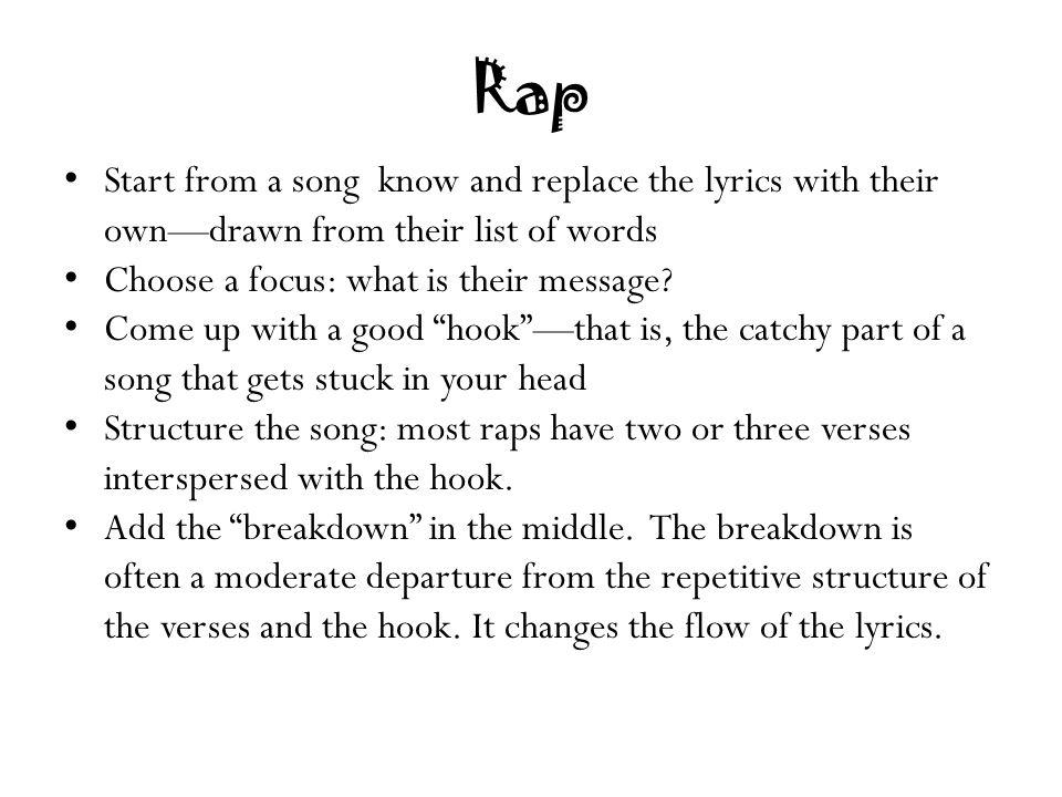 3 SECRETS To Writing BETTER Rap Hooks #Curtspiration
