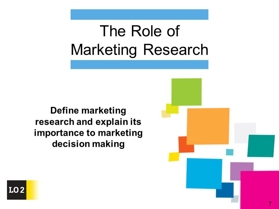 the role and importance of market research This means establishing rules and business concept of how the organization will conduct itself on the market, what marketing  market research and.