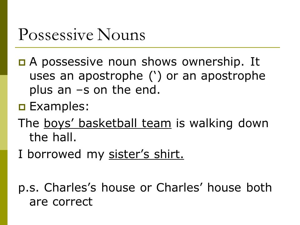 8 Types of Nouns. - ppt video online download