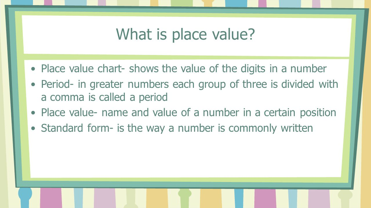 Do now for 902798 write the digit in the hundreds place 6 x 2 what is place value place value chart shows the value of the digits in a nvjuhfo Image collections