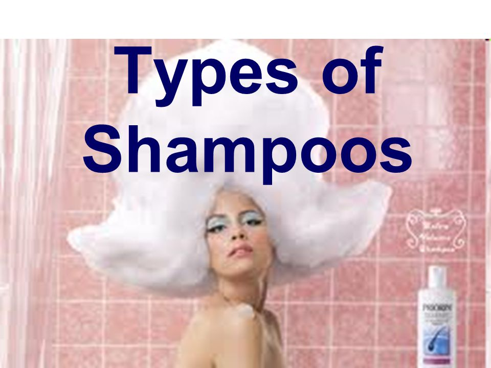 Types of Shampoos