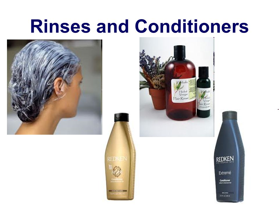 Rinses and Conditioners