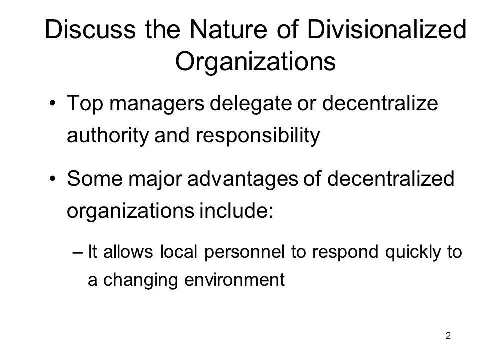 nature of managerial authority Delegation of authority means entrusting someone else to do parts of your job  delegation of authority is defined as subdivision and sub-allocation of powers to .