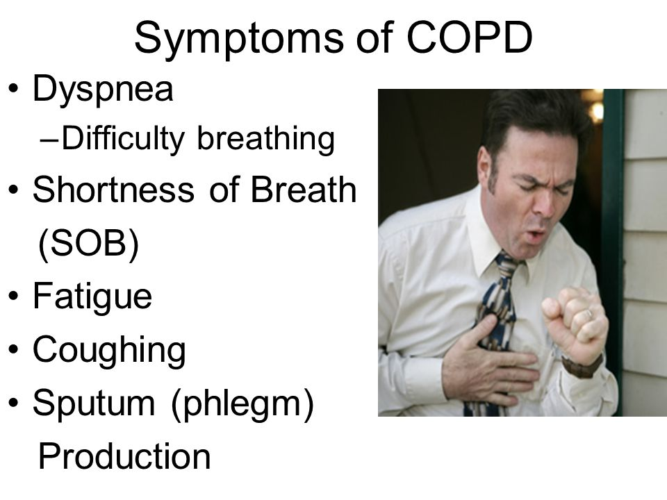 a short description of chronic obstructive pulmonary disease Learn about three things that may be helpful to know if you're living with chronic obstructive pulmonary disease (copd).