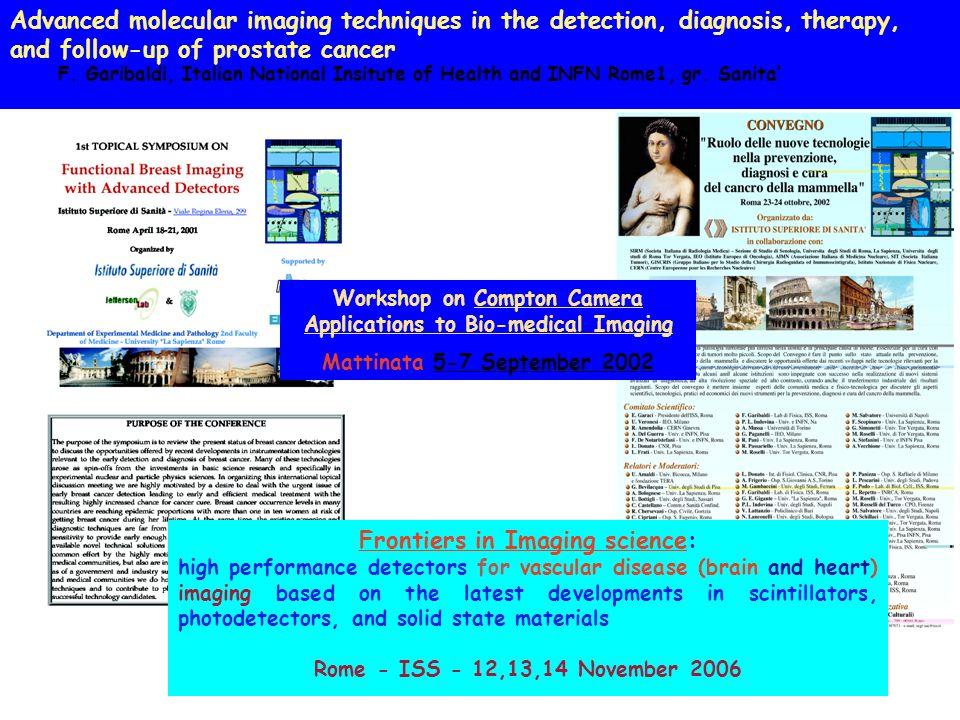 Frontiers in Imaging science: