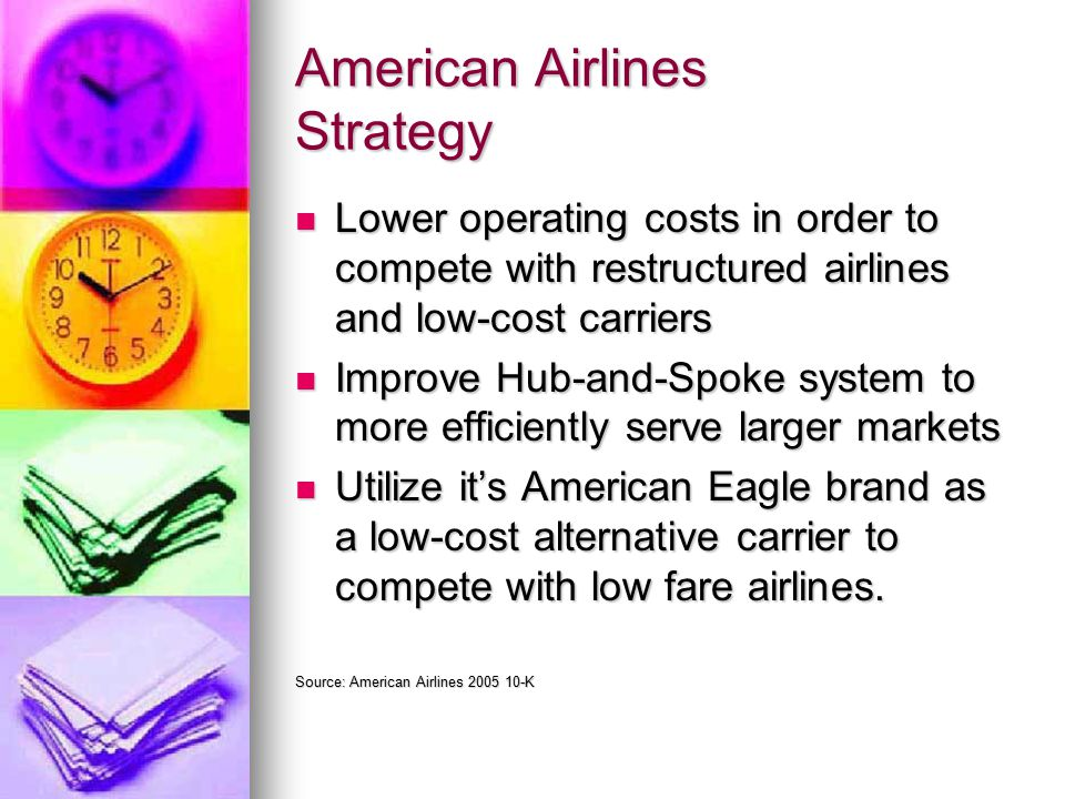 american airlines strategy paper American airlines, major american airline serving nearly 50 countries across the   protection agency to develop environmentally friendly business strategies.