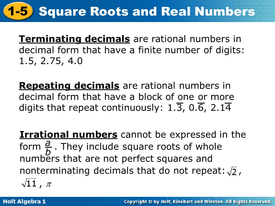 Terminating decimals are rational numbers in