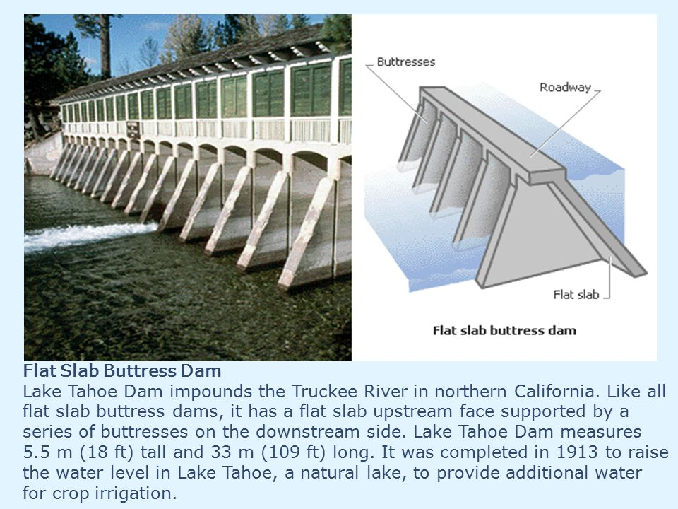 Flat Slab Buttress Dam