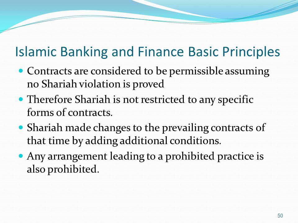 Shariah principles islamic banking