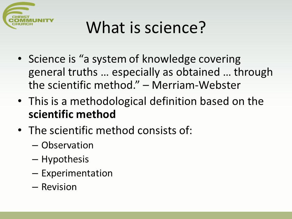 Science and religion: Is it either/or or both/and? - ppt ...