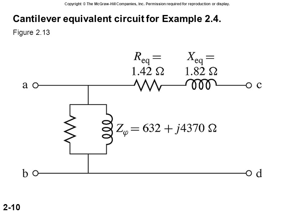 Transformer with open secondary ppt download a equivalent circuit and b phasor diagram for example 25 ccuart Images