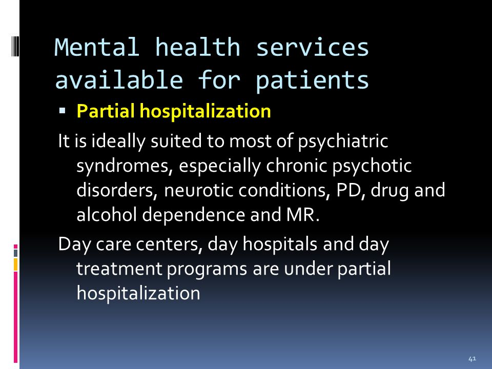 community mental health nursing   ppt download